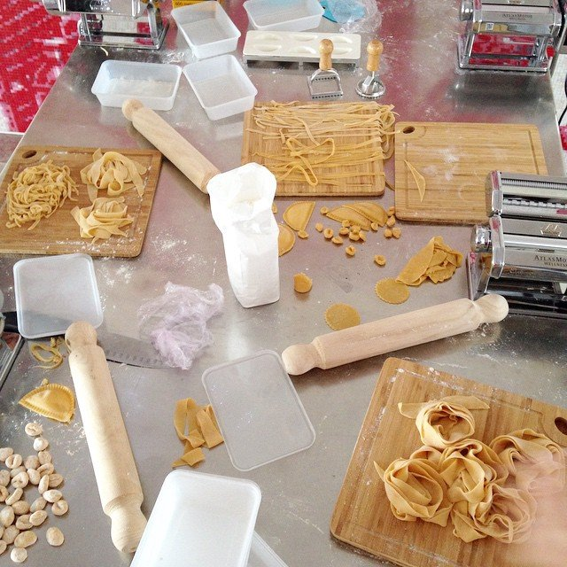 Making Pasta in Class