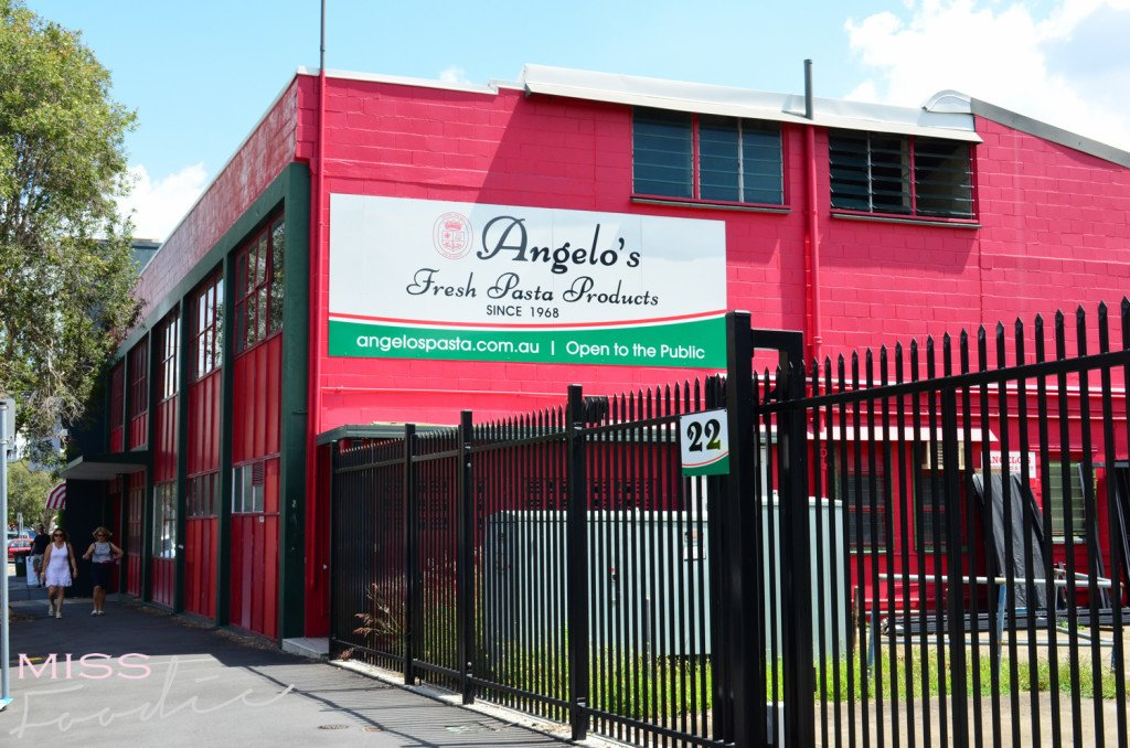 Angelo's Pasta Big Red Factory